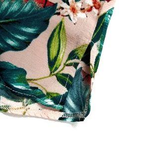 Topshop Tops - ♡ Topshop Floral Palm Double Strap Cami Tank Top